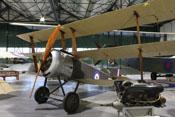 Britischer Sopwith Dreidecker im RAF-Museum London-Hendon
