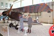 Fokker D.VII im Luftwaffenmuseum Berlin-Gatow