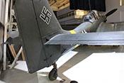 Höhenruder der Junkers Ju 87 G-2 mit Trimmklappe und Hilfsruder