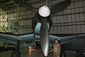 Einzelnes Propellerblatt der Luftschraube
