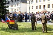 Gedenkveranstaltung mit Kranzniederlegung für die Gefallenen der großen Luftschlacht vom 11. September 1944