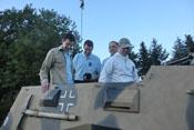 Dui, Bendwick, Schneeweiss und Greif im SdKfz 247