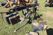 Maschinengewehr 'MG 42' auf Feldlafette