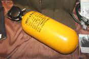 amerikanische Sauerstoffflasche