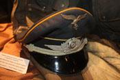 Schirmmütze eines Offiziers der deutschen Luftwaffe