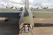 Boeing B-17 Heckschützenposition der 'Fliegenden Festung'