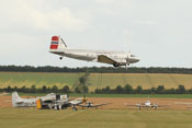 Douglas DC-3 'Dakota' Norway LN-WND im Tiefflug