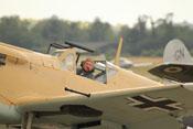 Hispano HA-1112 M1L Buchon (G-AWHE) und Pilot