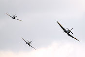 Supermarine Spitfire in Formation