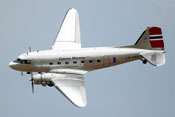Douglas DC-3 'Dakota' Norway LN-WND