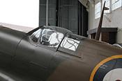 Cockpithaube einer Supermarine Spitfire