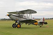Doppeldecker-Jagdflugzeug Hawker Nimrod MkI von (1932)