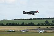 North American P-51D 'Mustang' G-SHWN kurz nach dem Start