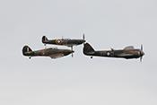 RAF-Formation aus Bristol Blenheim, Hawker Hurricane und Supermarine Spitfire