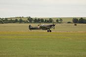 Landung der Supermarine Spitfire G-CISV R9649