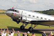 Transportflugzeug Douglas DC-3 'Dakota' LN-WND
