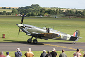 Supermarine Spitfire auf dem Taxiway
