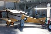 Spad S-VII Doppeldecker-Jagdflugzeug des Ersten Weltkriegs