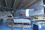 IMAM Ro43 'MM27050' Aufklärungs-Schwimmerflugzeug von 1937 im Hangar 'Velo'
