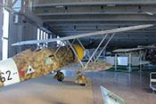 Fiat CR 42 'Falco' Doppeldecker-Jagdflugzeug von 1938