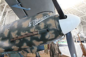 Triebwerksverkleidung der Macchi MC202 'Folgore'
