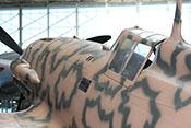 Cockpithaube der Macchi MC 205 'MM9546'