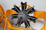 7-Zylinder-Sternmotor der Firma FIAT