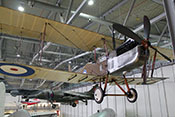Zweisitziger britischer Doppeldecker-Bomber des Ersten Weltkrieges - Royal Aircraft Factory R.E.8