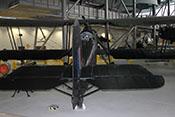 Sicht auf den 'Radarbildschirm' im Cockpit des Beobachters und Heckschützen der Fairey Swordfish Mk III