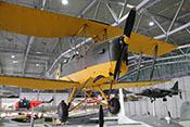 de Havilland D.H.82 Tiger Moth - seit 1932 Schulflugzeug bei der britischen Royal Air Force