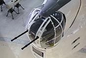 Linke Bugbewaffnung (unten rechtes) und vorderer Geschützturm der Short Sunderland Mk V