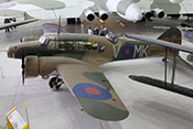 Avro Anson Mk I 'N4877' von 1938 - Küstenaufklärer, Verbindungsflugzeug und Trainer für Fortgeschrittene