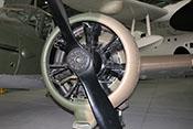 Armstron Siddeley Cheetah IX - luftgekühlter 7-Zylinder-Sternmotor (350 PS) der Avro Anson Mk I