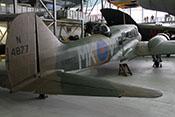 Ansicht der Avro Anson Mk I 'N4877' von hinten rechts