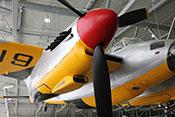 Rechtes Triebwerk der de Havilland Mosquito TT35