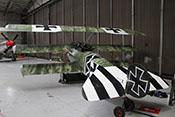 Fokker Dr.I - Nachbau des Dreidecker-Jagdflugzeuges aus dem Ersten Weltkrieg