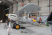 Hawker Nimrod Mk I 'S1581' - trägergestützes Jagdflugzeug der 1930er Jahre mit 477 PS starkem Rolls-Royce Kestrel IIMS