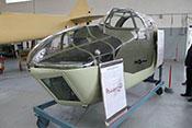 Nase eines leichten britischen Bombers Bristol Blenheim Mk IV von 1943