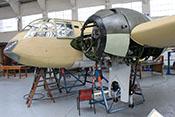 Ansicht einer Bristol Blenheim Mk I von vorne links