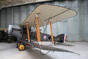 Zweisitziges britisches Jagdflugzeug Bristol F.2B von 1918