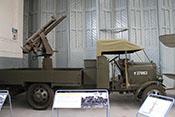 Britischer Thornycroft Type J Lastkraftwagen mit Flugabwehrkanone