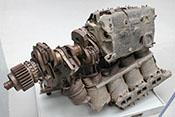 Flugmotor Daimler-Benz DB 603 A einer in der Nacht vom 21. zum 22. Januar 1944 abgeschossenen Dornier Do 217 M