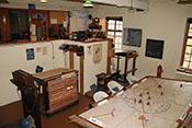 Operationsleitstelle des RAF-Flugplatzes Duxford von 1940
