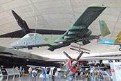 Seitenansicht der Fairchild Republic A-10 Thunderbolt II 'Warthog'