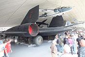 Strategischer Höhenaufklärer Lockheed SR-71A 'Blackbird' von 1966