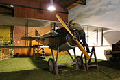 Französisches Doppeldecker-Jagdflugzeug Spad S-VIIC.1 (Seriennummer 11.583) aus dem Jahr 1916