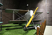 Aero A-18C Rennflugzeug von 1924 mit aerodynamisch vorteilhaft integrierten Kühlern