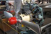 Sowjetischer 14-Zylinder-Doppelstern-Flugmotor Schwezow ASch-82