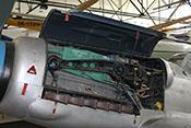Junkers-Jumo-211-Triebwerk in der Avia CS-199 (Messerschmitt Bf 109 G)