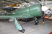 Schuljagdflugzeug Let C-11 (Seriennummer 171727) von 1956, Lizenzbau der sowjetischen Jakowlew Jak-11